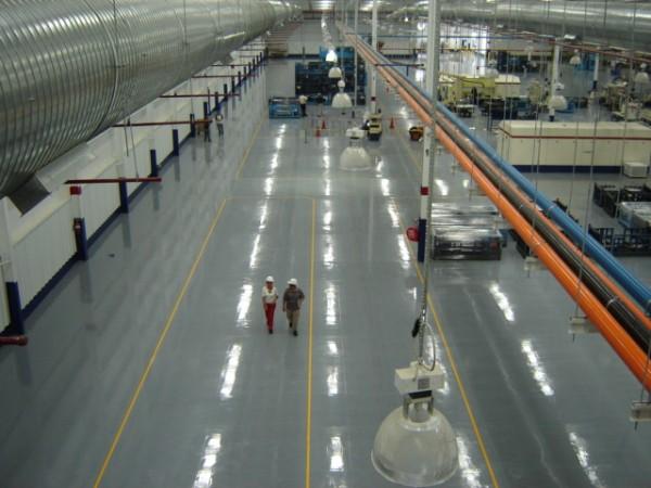 Промышленные полы. Например бетонные полы. или наливные полы