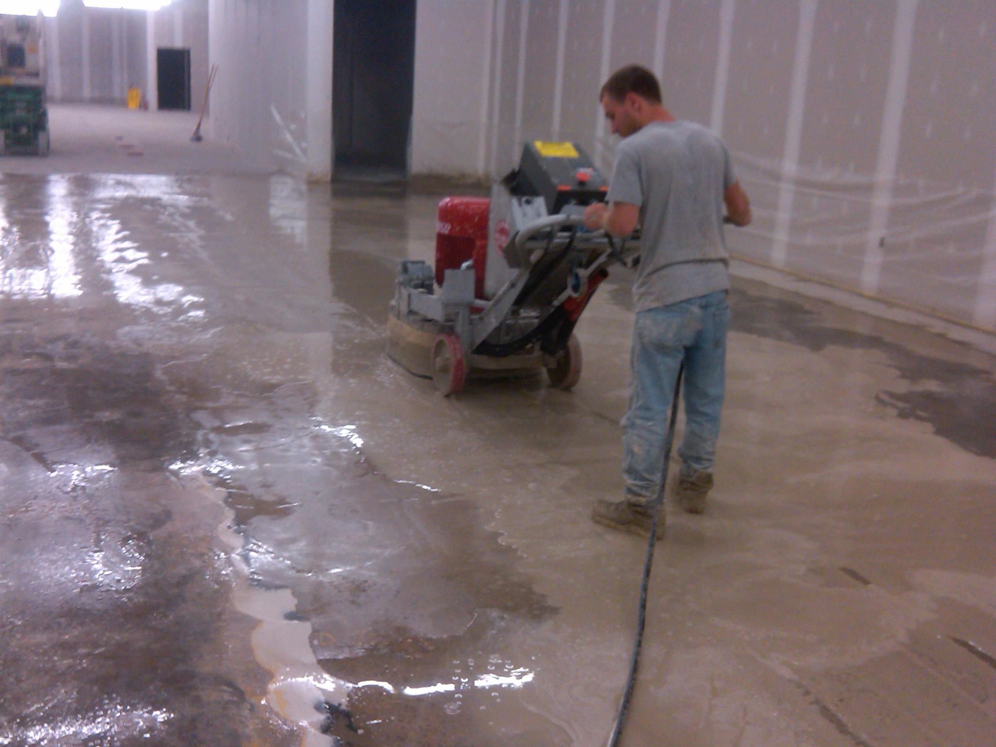восстановление старого бетонного пола